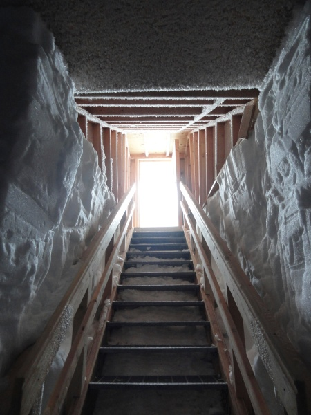 byrd-station-antarctica-freezer-cave-stairs