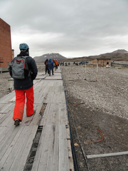 pyramiden-elevated-walkways-permafrost