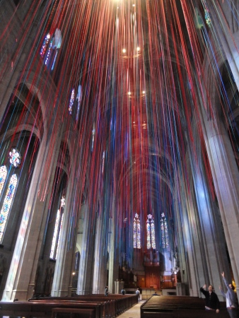grace-cathedral-ribbon-installation