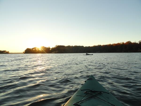 afternoon-kayak-autumn-saint-leonard-creek-maryland
