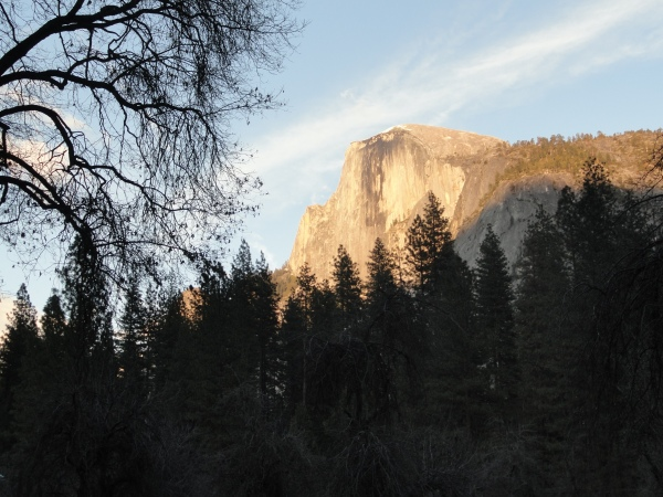 half-dome-at-sunset